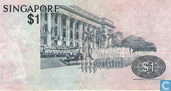 Bankbiljetten - Board of Commissioners of Currency - Singapore 1 Dollar