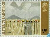 Postage Stamps - Great Britain [GBR] - Ulster Festival '71-Paintings