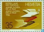 Postage Stamps - Switzerland [CHE] - Int. Year of Peace