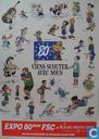 Affiches en posters - Strips - Expo 80eme FSC au Woluwe Shopping Centre (scoutskalender)