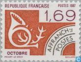 Postzegels - Frankrijk [FRA] - Oktober