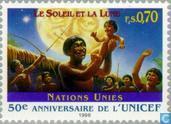 Postzegels - Verenigde Naties - Genève - 50 jaar UNICEF