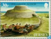 Timbres-poste - Jersey - Europe – Grandes découvertes