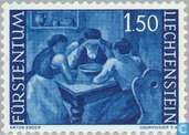 Postage Stamps - Liechtenstein - Farming Motives