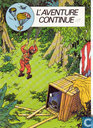 Strips - Kuifje - L'aventure continue
