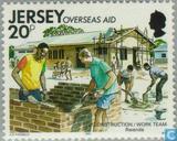 Postage Stamps - Jersey - Development