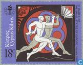 Postage Stamps - Cyprus [CYP] - Sports Games small European states