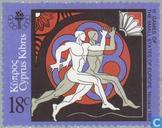 Postzegels - Cyprus [CYP] - Sportspelen kleine Europese staten