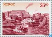 Postage Stamps - Norway - 2600 Red