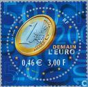 Timbres-poste - France [FRA] - introduction de l'euro
