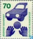 Postage Stamps - Germany, Federal Republic [DEU] - Preventing accidents