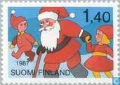 Timbres-poste - Finlande - Noel