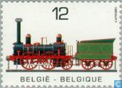 Postage Stamps - Belgium [BEL] - Locomotives