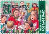 Postage Stamps - Jersey - Clocks