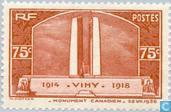 Postage Stamps - France [FRA] - Vimy memorial