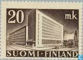 Postage Stamps - Finland - The post Helsinki Hotel