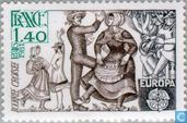 Timbres-poste - France [FRA] - Europe – Folklore