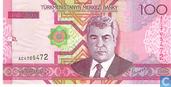 Billets de banque - Türkmenistanyn Merkezi Banky - Manat du Turkménistan 100