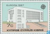 Postage Stamps - Cyprus [CYP] - Europe – Modern architecture