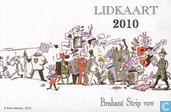 Brabant Strip lidkaart 2010