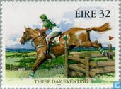 Postzegels - Ierland - Paardensport
