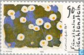 Postzegels - Liechtenstein - Gehr, Ferdinand 100 jaar