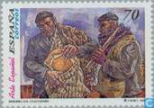 Postage Stamps - Spain [ESP] - Arts