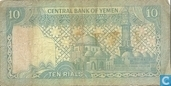 Banknoten  - Central Bank of Yemen - Jemen 10 Rial