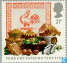 Postage Stamps - Great Britain [GBR] - Food and agricultural year