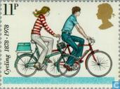 Postage Stamps - Great Britain [GBR] - 100 years cycling federations