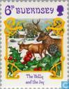Postage Stamps - Guernsey - Christmas Songs