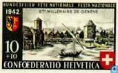 Postage Stamps - Switzerland [CHE] - Geneva in the past