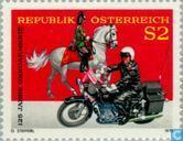 Postage Stamps - Austria [AUT] - Gendarmerie 125 years