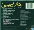 Platen en CD's - Curved Air - Curved Air Live