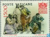 Timbres-poste - Vatican - Académie pontificale des sciences