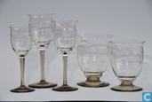 Glas / kristal - Kristalunie - Macon bitterglas blank met fumi