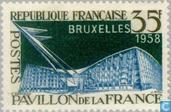 Briefmarken - Frankreich [FRA] - Weltausstellung- Brüssel