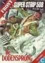 Strips - Commando's nemen risico's - De dodensprong