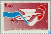 Postage Stamps - France [FRA] - Post office savings bank