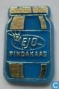 Ejo pindakaas [gold on blue]