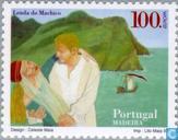 Briefmarken - Madeira - Europa - Sagen und Legenden