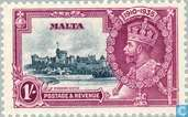 Briefmarken - Malta - King George V Jubiläum