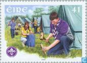 Briefmarken - Irland - Scouting