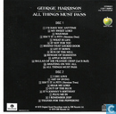Vinyl records and CDs - Harrison, George - All things must pass