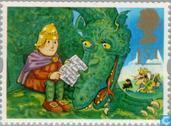 Timbres-poste - Grande-Bretagne [GBR] - Personnages de livre pour enfants