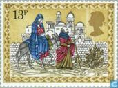 Postzegels - Groot-Brittannië [GBR] - Kerstmis - Nativity Scenes