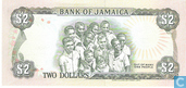 Banknoten  - Jamaika - 1985-1999 Reduced Size Issue - Jamaika 2 Dollars 1989