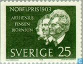 Postzegels - Zweden [SWE] - Nobelprijswinnaar 1903