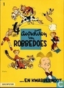 Comic Books - Spirou and Fantasio - 4 Avonturen van Robbedoes ...en Kwabbernoot