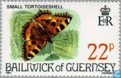 Postage Stamps - Guernsey - Butterflies